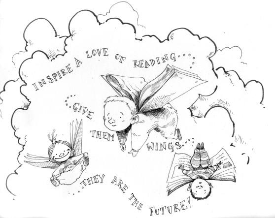 Bookstart week sketch