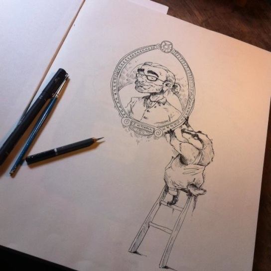 New sketch book...